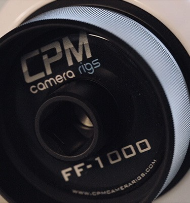 CPM Camera Rig's Follow Focus has many features and great build quality.