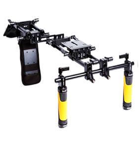 ikan flyweight offset dslr shoulder rig