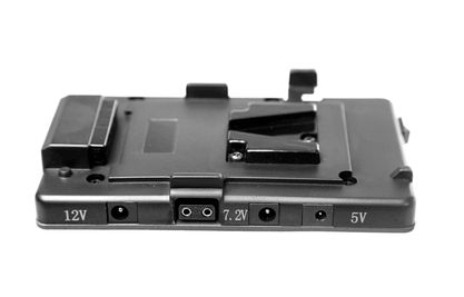 multiple outlet battery plate