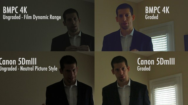 DRAMATIC COMPARISON: BMPC 4K Vs Canon 5D Mark III | ECG