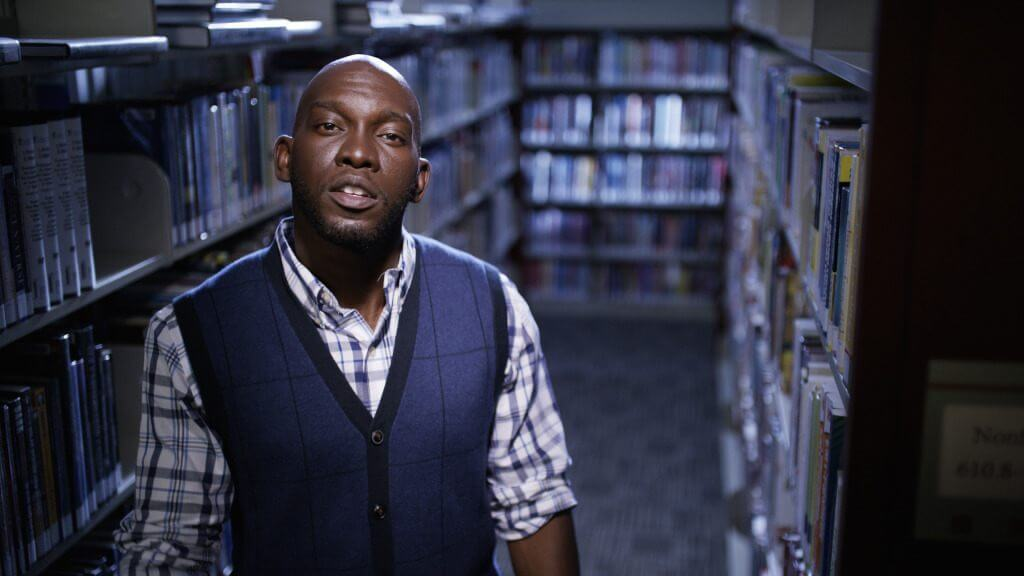 P-Dash in Library for George Stinney Music video by ECG Productions