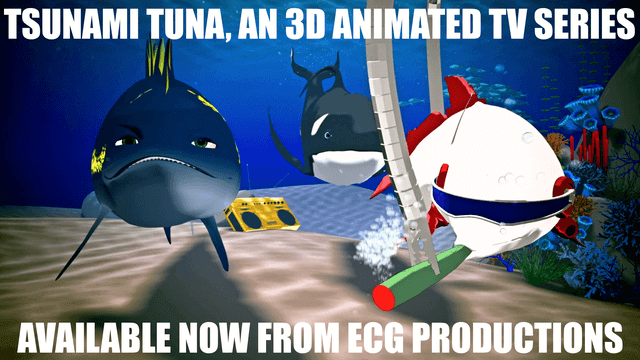 Tsunami Tuna 3D Animated TV Series