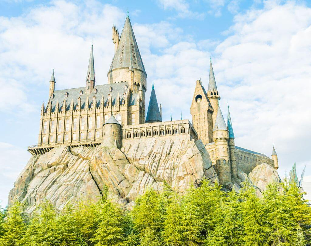 Harry Potter's school of witchcraft and wizardry, Hogwarts