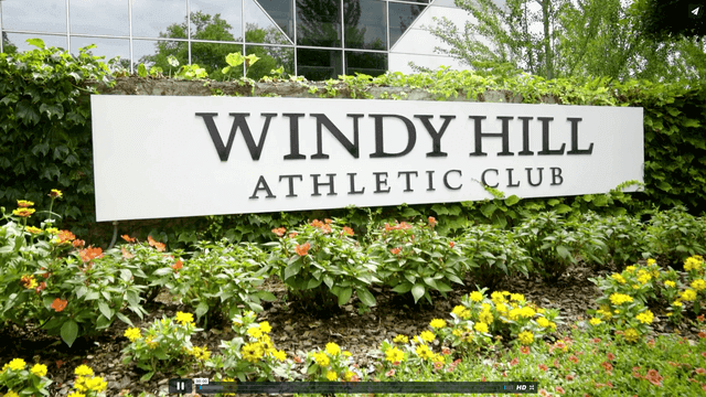 Video stills from Windy Hill Athletic Club