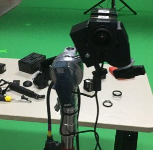 360 camera in testing stage