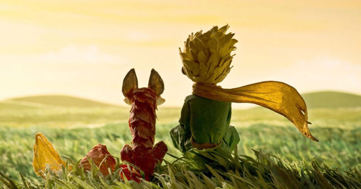 scene from The Little Prince