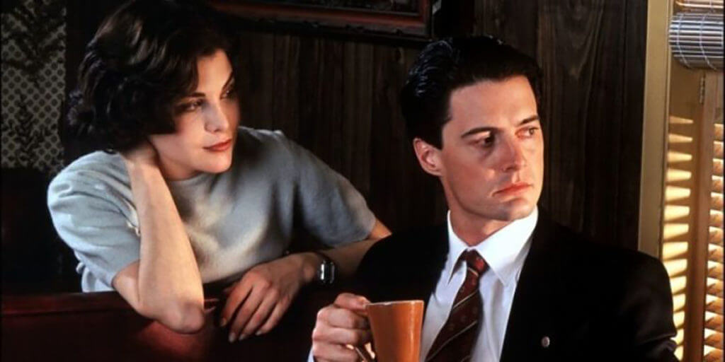 Twin Peaks' Dale Cooper and Audrey Horne