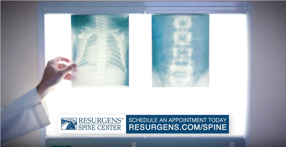 Resurgens Spine Center X-Ray Commercial
