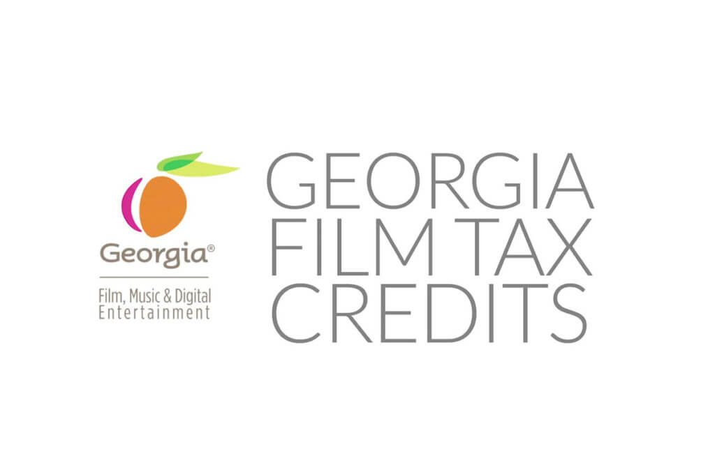 Georgia Film Tax Credits logo for film and post-production in Georgia.
