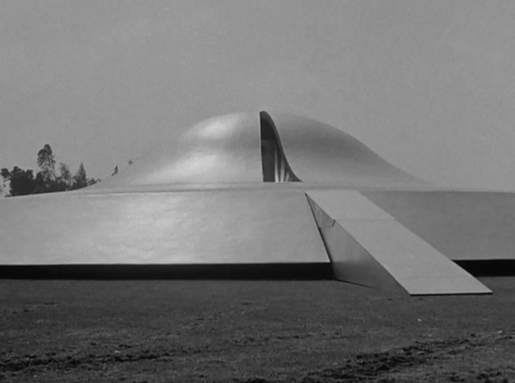 Spaceship from the original movie The Day the Earth Stood Still