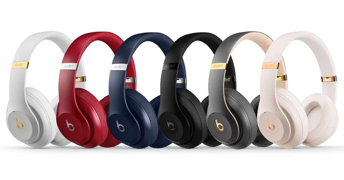 6 Beats headphones in multiple colors from the Studio 3 Beats Wireless  headphones collection. 9956f4b5b