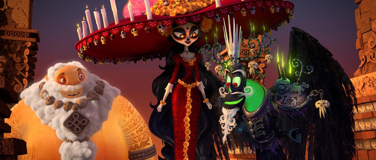 Maria from The Book of Life.