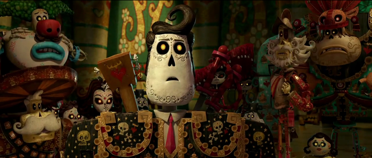 A wooden character from The Book of Life