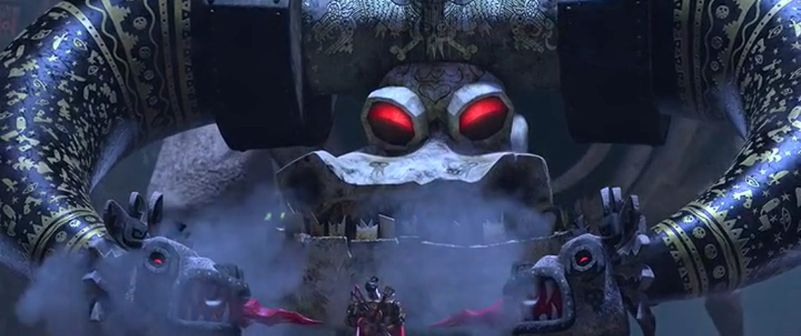 The evil machine from The Book of Life