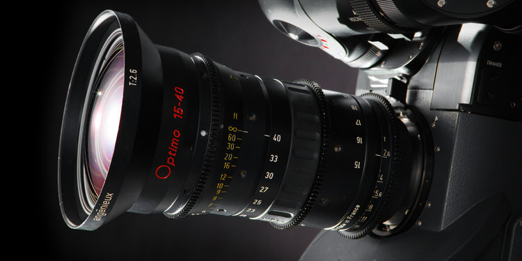 The Angénieux Optimo 15-40mm, a beautiful yet expensive camera lens.