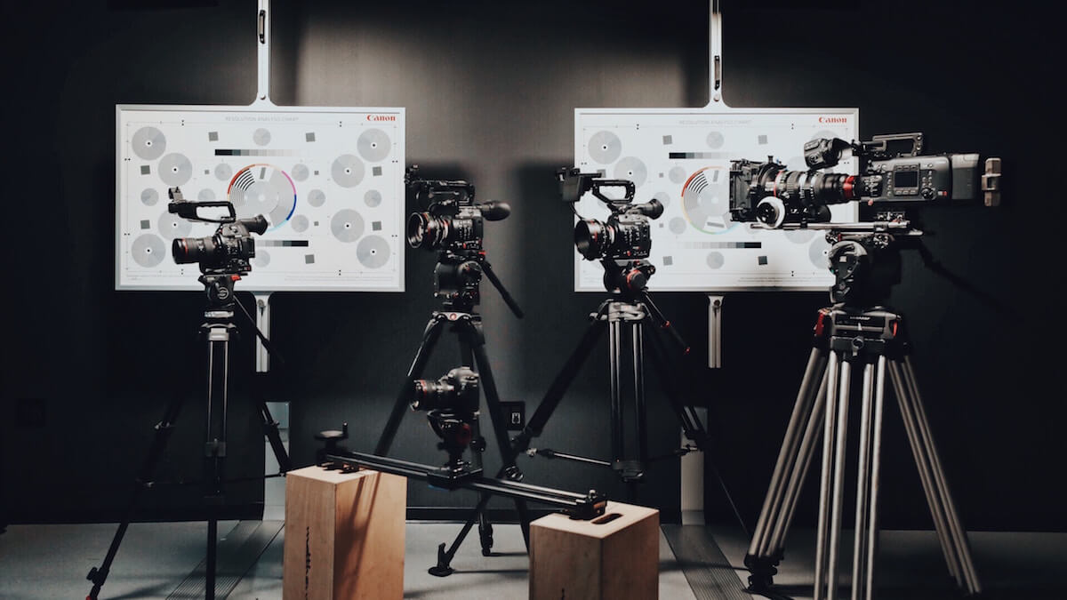 Excellent canon cameras for live stream video production.