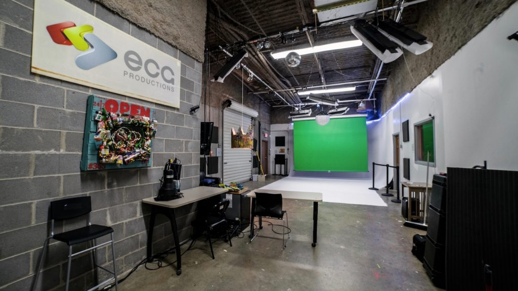 ECG in-house production studio rental