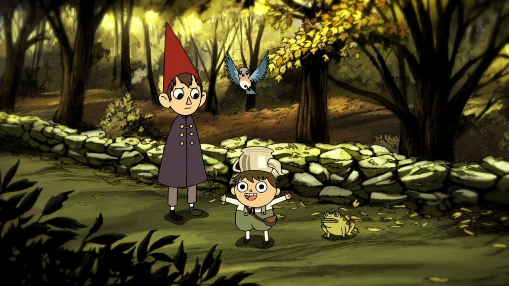 Main characters from Over the Garden Wall
