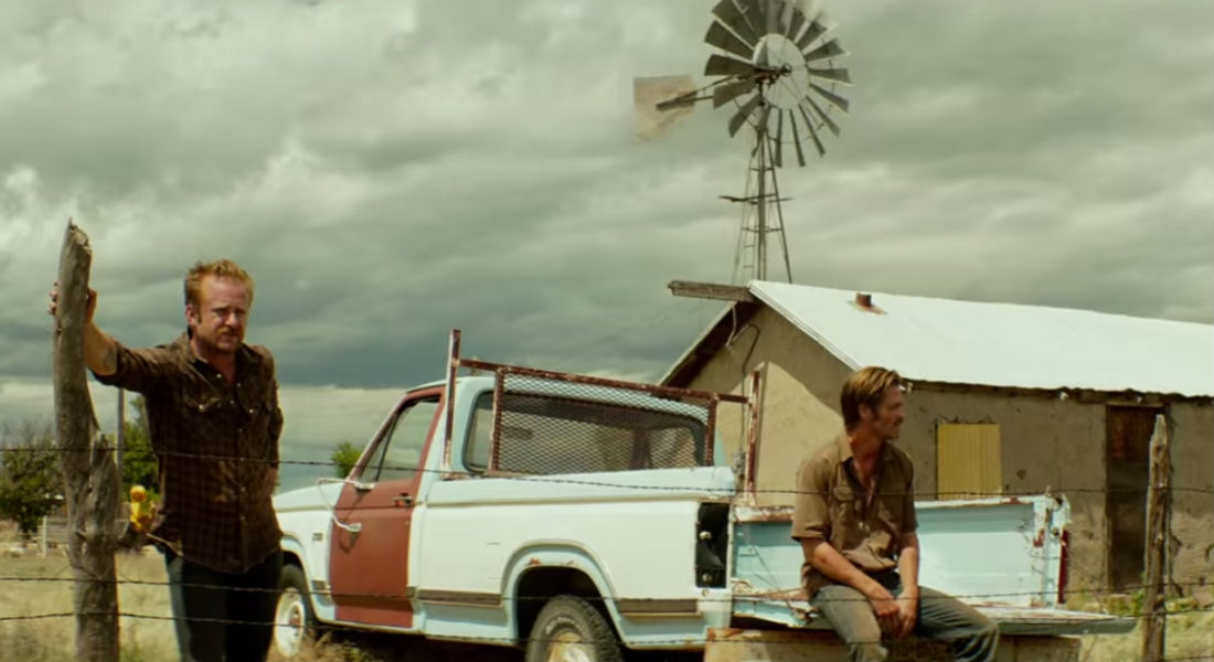 Ben Foster and Chris Pine in Taylor Sheridan's Hell or High Water
