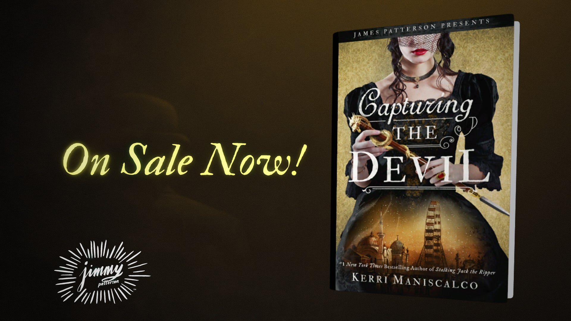 A book cover and book promo for Capturing the Devil