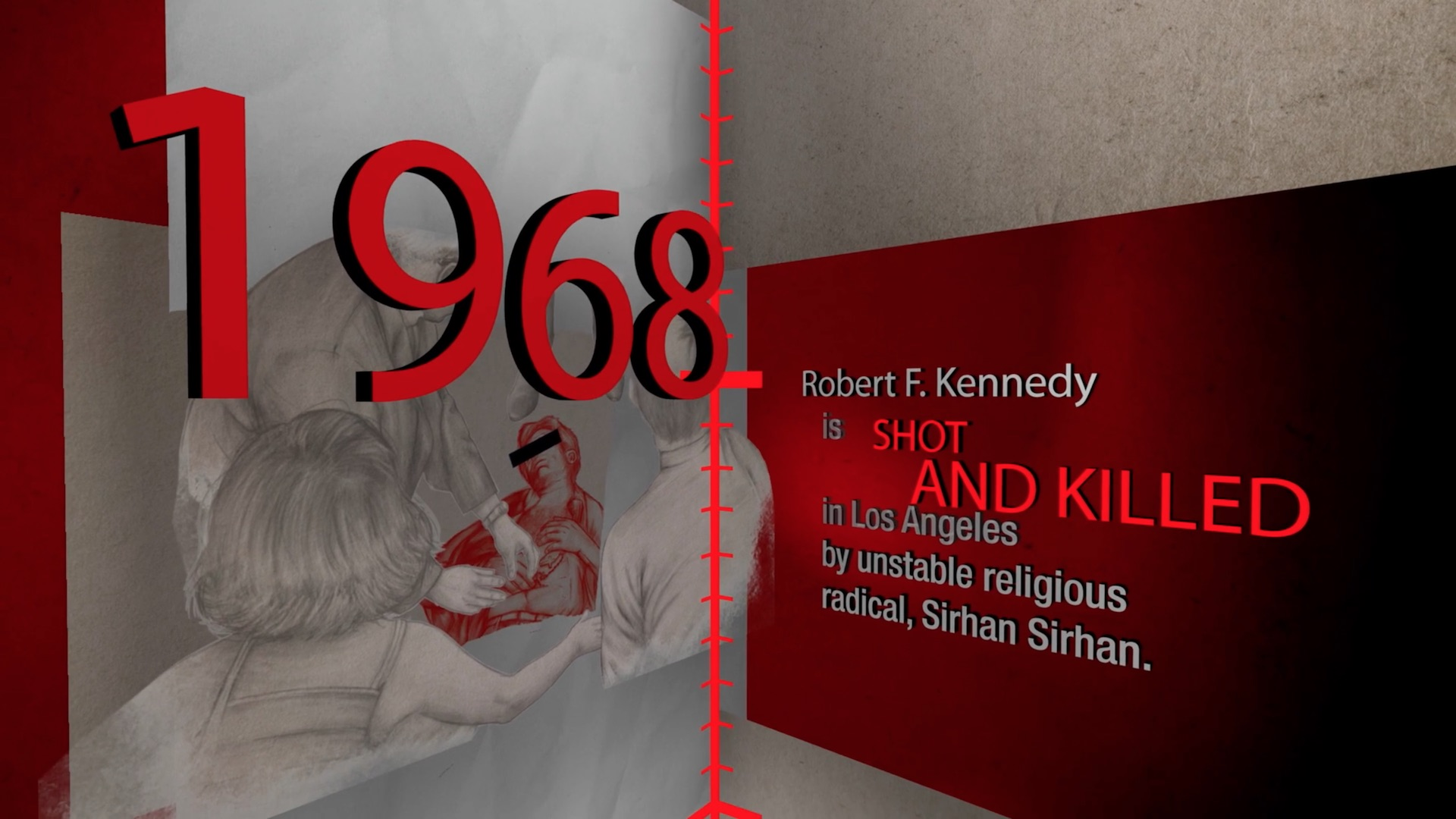 James Patterson's The House of Kennedy - Timeline of Tragedy book promo artwork