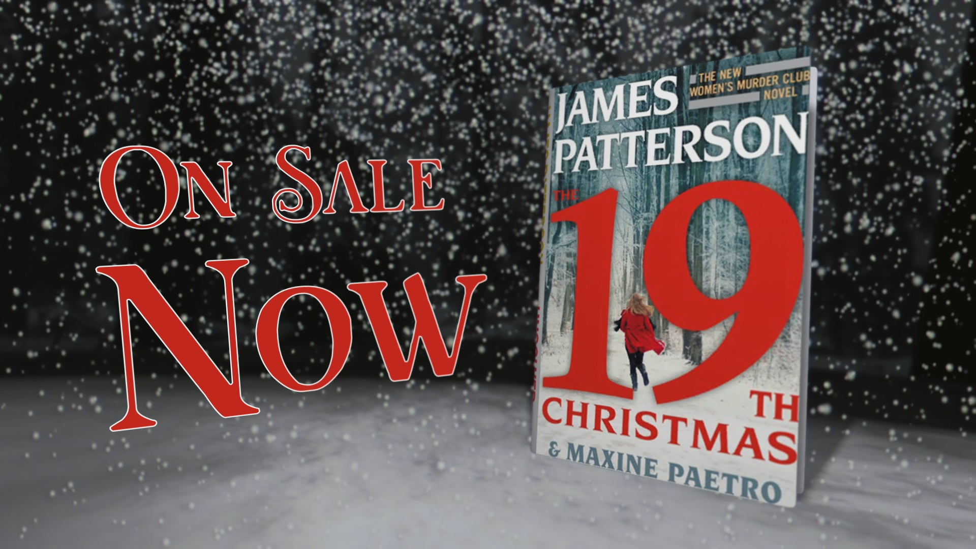 Promotional artwork for James Patterson's 19th Christmas