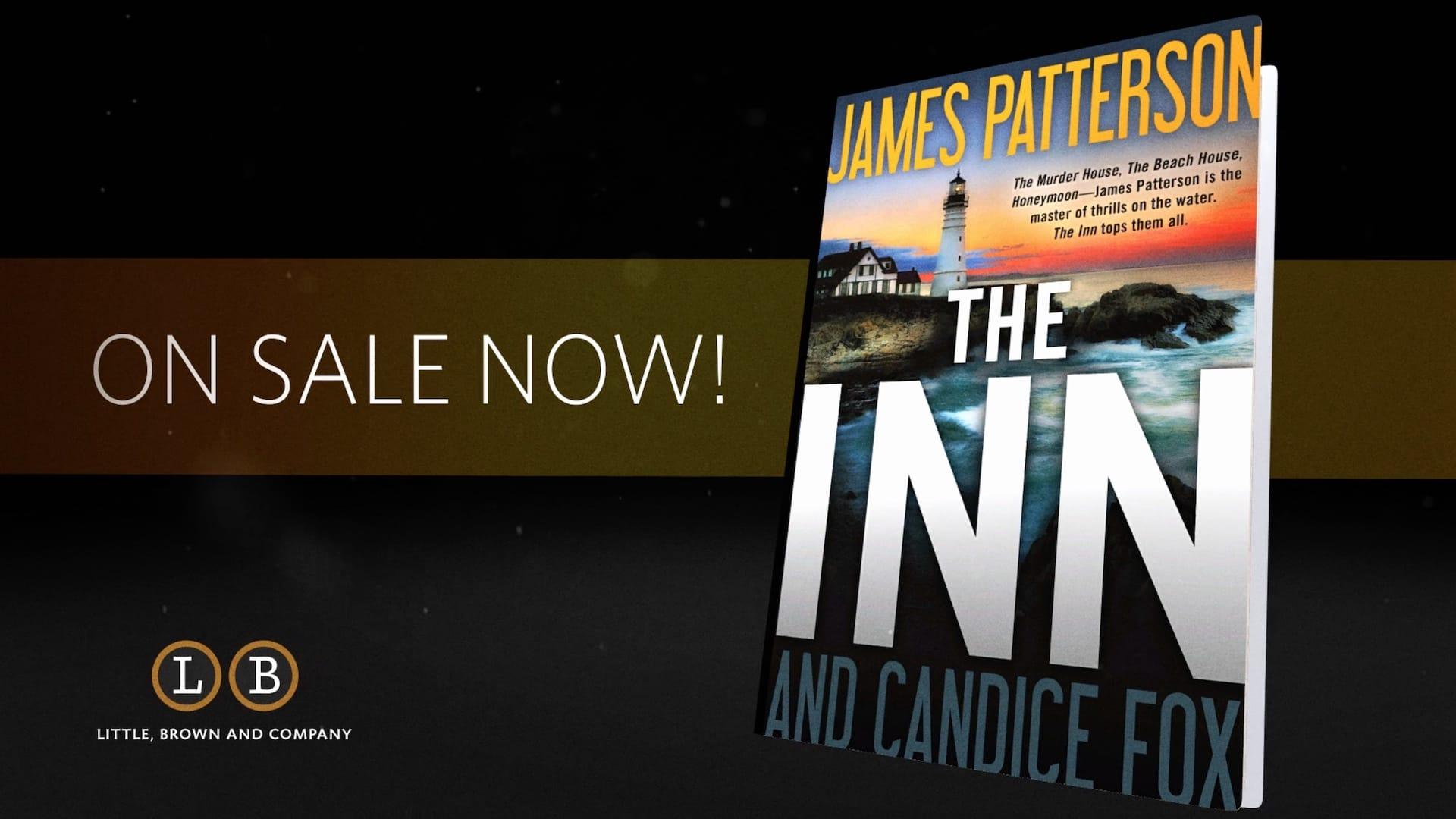 James Patterson's The Inn book promo artwork