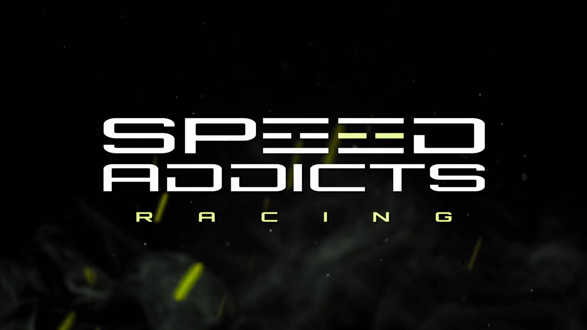 Speed Addicts Racing logo on black background
