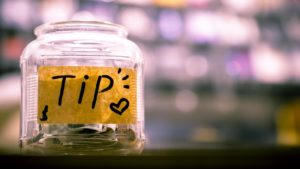 A tip jar appreciative of any suggestions on how to stay motivated.